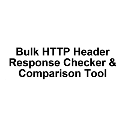 Bulk HTTP Header Response Checker
